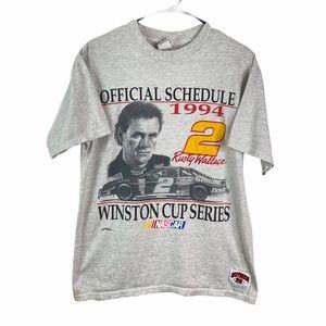 VTG Nascar Rusty Wallace Winston Cup 1994 Tee L